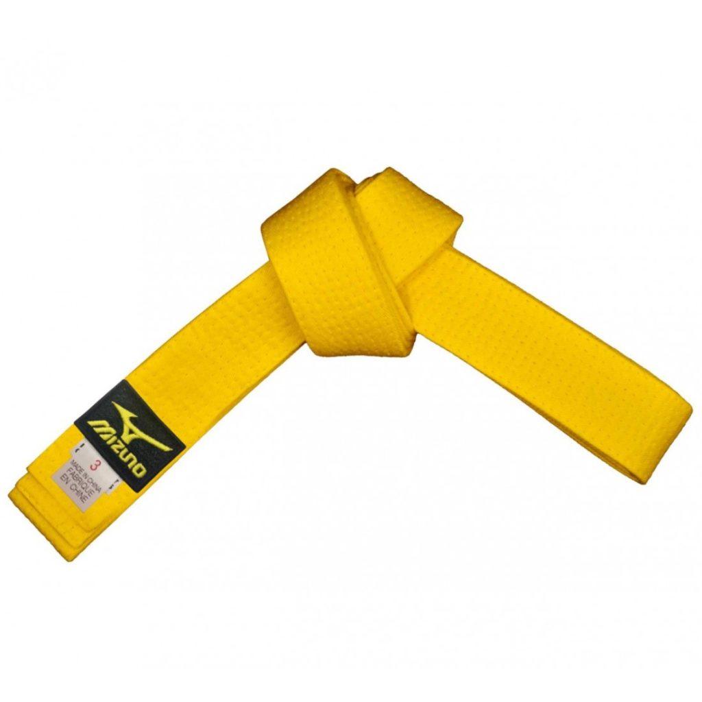 Желтый пояс в дзюдо