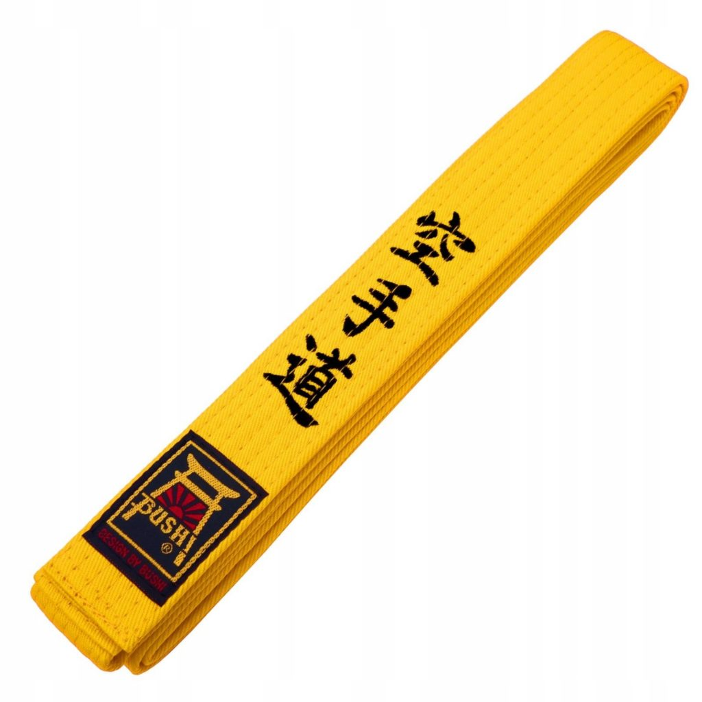 Желтый пояс в карате