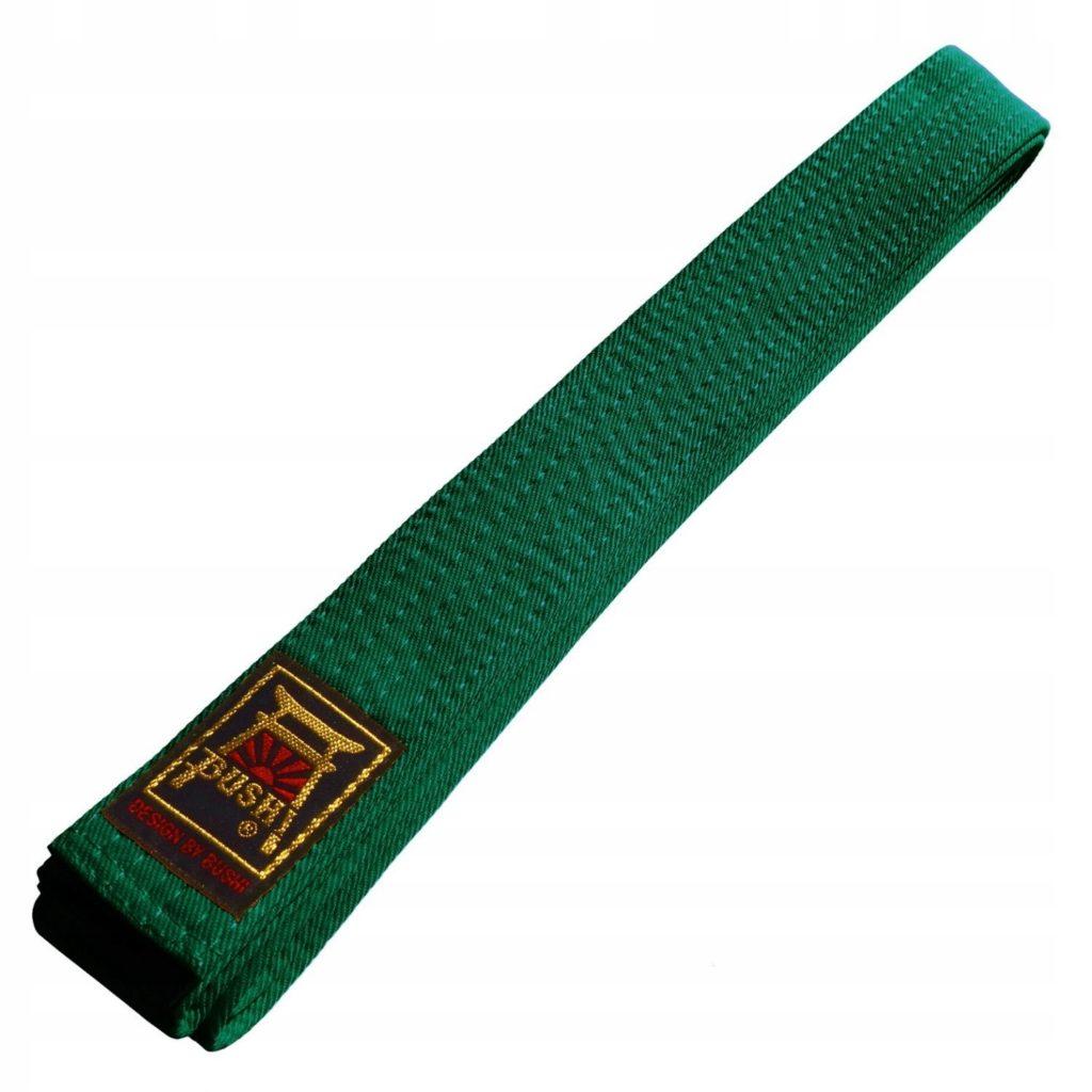 Зеленый пояс в карате