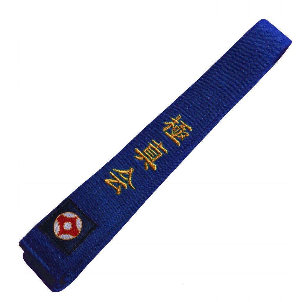 Голубой пояс в карате