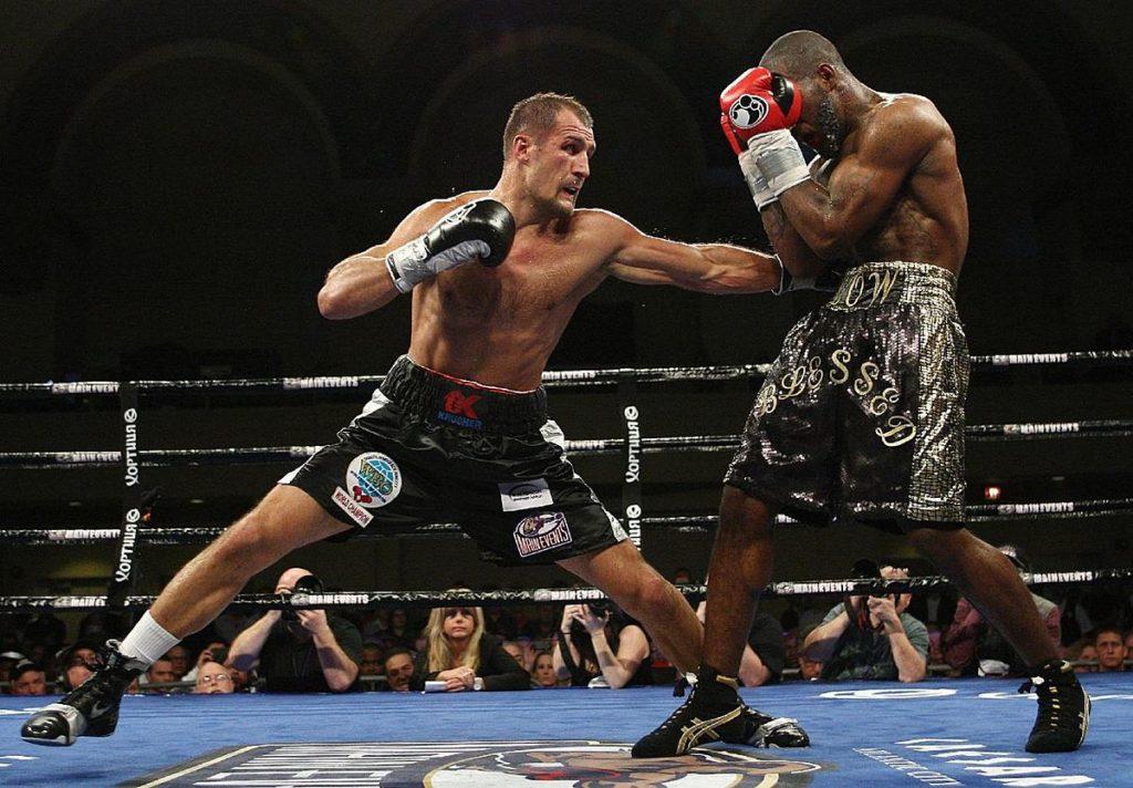 Подсчет баллов в профессиональном боксе