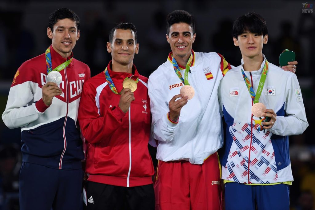 бронзовая медаль тхэквондо