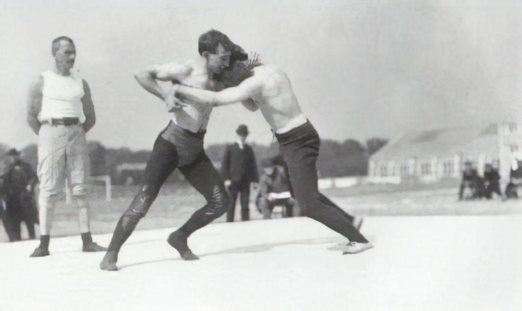 Вольная борьба на олимпийских играх