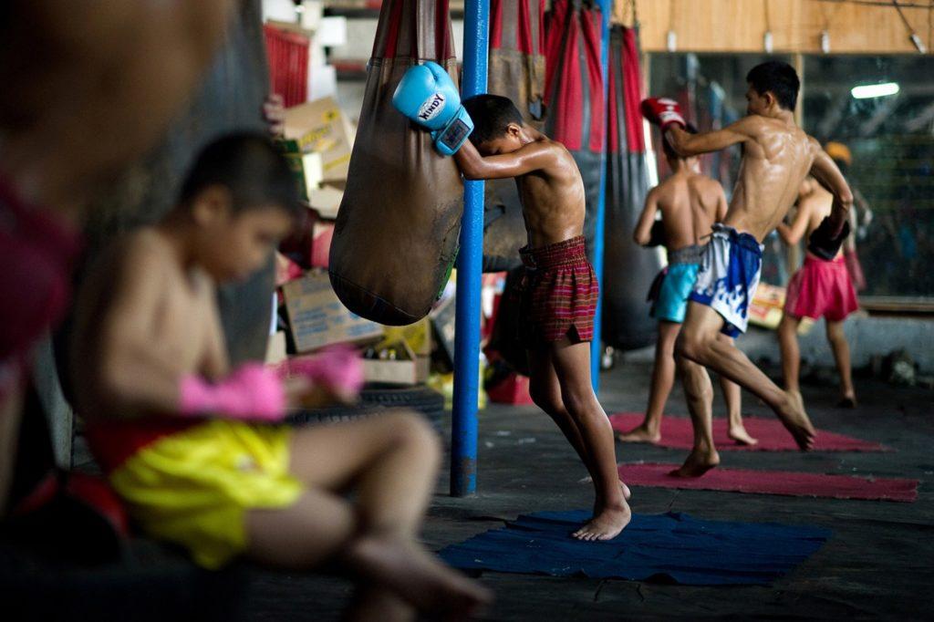 тайскому бокс в домашних условиях