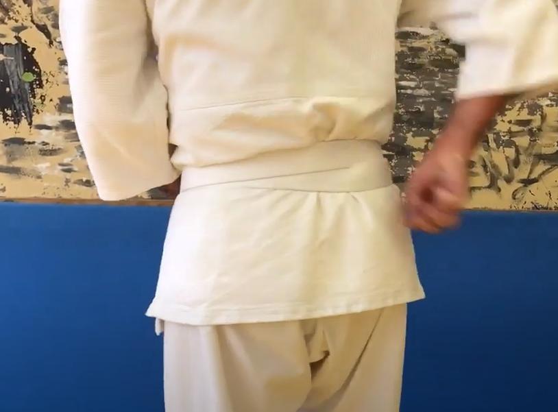 завязать пояс кимоно айкидо как правильно
