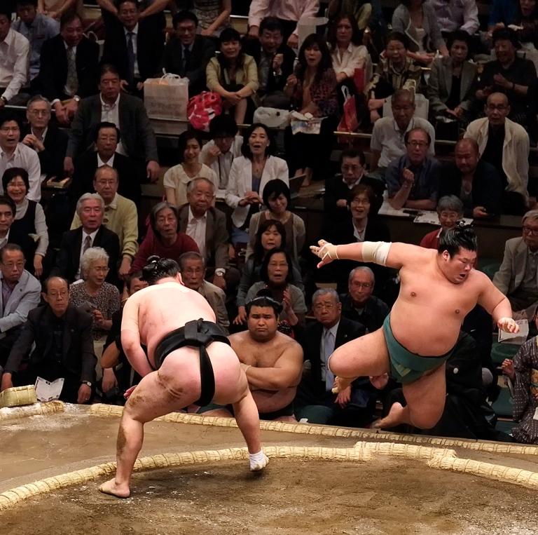 соревнование в сумо