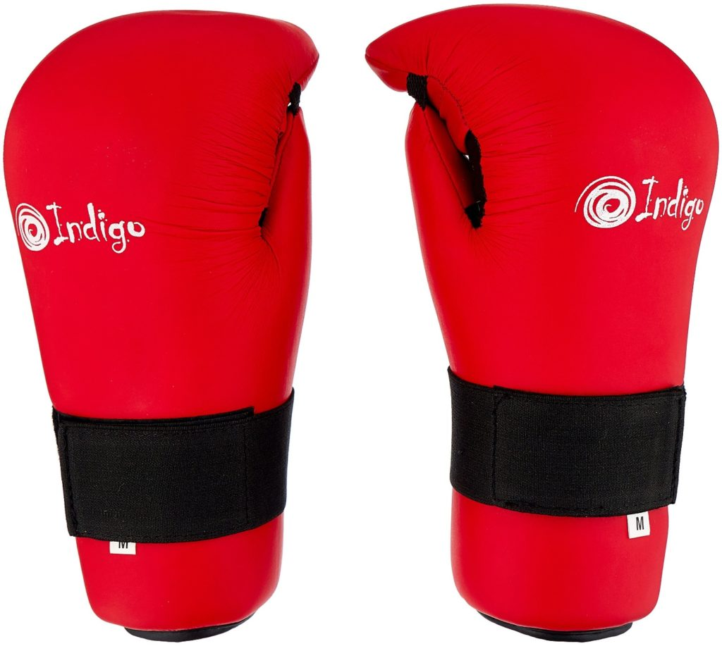 Перчатки Indigo 7-CONTACT UL-3645 для карате