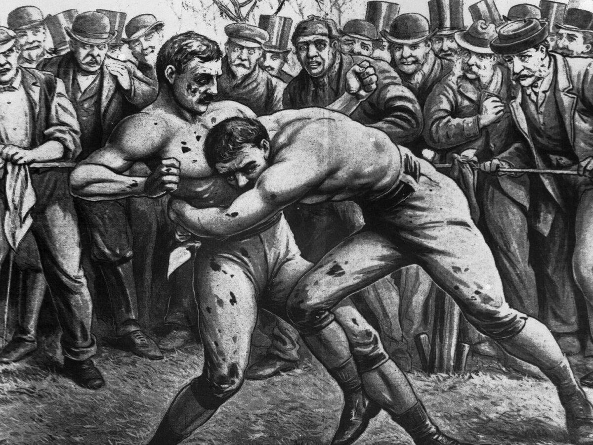 средневековый бокс