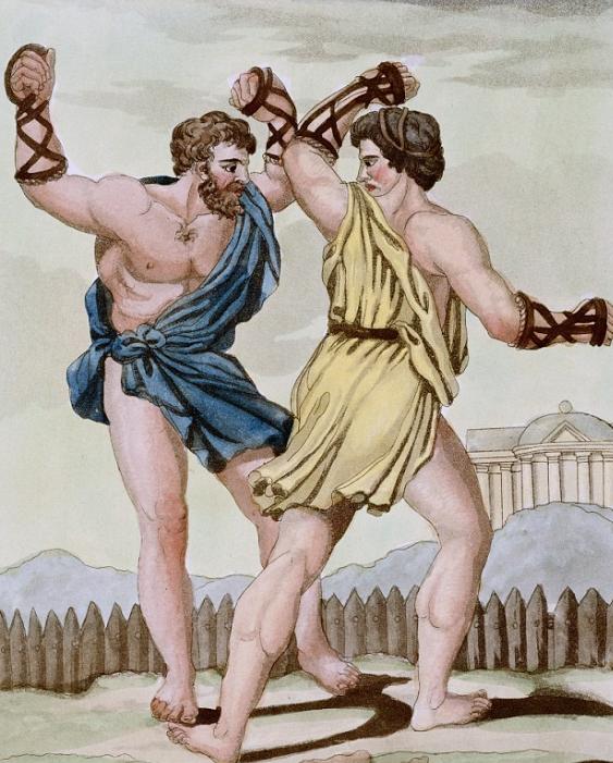 бокс кулачный бой
